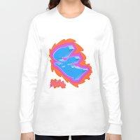 graffiti Long Sleeve T-shirts featuring Graffiti... by Dousan