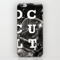 occult iPhone & iPod Skins featuring Occult by Mario Zoots