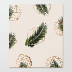 Palm + Geometry #society6 Decor #buyart Canvas Print