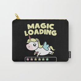 Unicorn Magic Loading Stardust Carry-All Pouch
