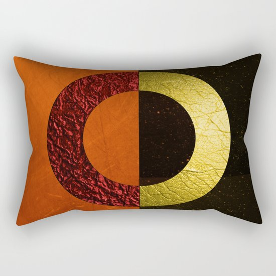Abstract #112 Rectangular Pillow