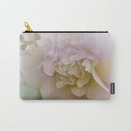 Romantic Camellia / floral design in soft color tones Carry-All Pouch