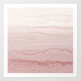 WITHIN THE TIDES - BALLERINA BLUSH Art Print