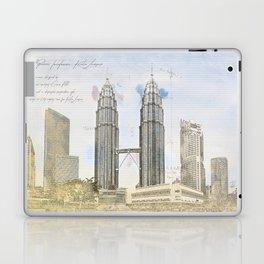 Petronas Towers, Kuala Lumpur Laptop & iPad Skin
