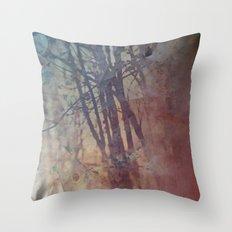 Siberian Red Throw Pillow