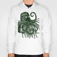 cthulhu Hoodies featuring Cthulhu by Hinterlund