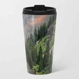 """Backroading"" above Red Mountain Pass, elevation 11,018 feet Travel Mug"