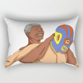 Full Nelson Mandela Rectangular Pillow