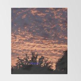 Atmospherics Number 2: Sunset from Costco San Dimas Throw Blanket