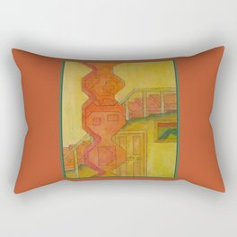 For the Squares: A Party at Auntie Mame's Rectangular Pillow