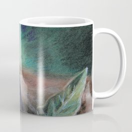 "Pastel Drawing ""Elegant Eggplant"" Coffee Mug"