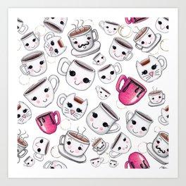 Coffee Cuppa Art Print
