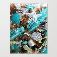 Merry Sparkling Christmas Bohemian Style Canvas Print