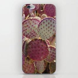 Purple Cactus iPhone Skin