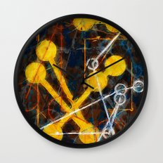atoms and chain reactions Wall Clock