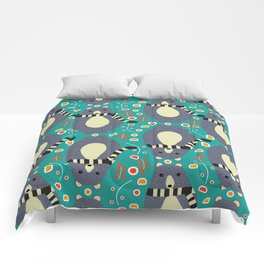 Little bears and flowers Comforters