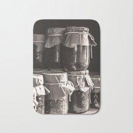 Old Fashion Canning Jars Bath Mat