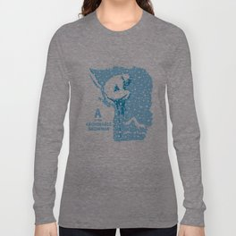 A is for Abominable Snowman Long Sleeve T-shirt