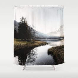 Mountain river 2 Shower Curtain