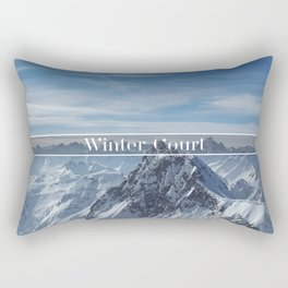 Winter Court Rectangular Pillow