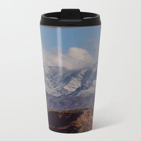 Desert Snow on Christmas - II Metal Travel Mug