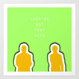 The Nice Guys 3  Art Print