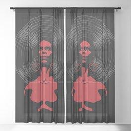 Soul Sister Sheer Curtain