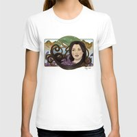 regina mills T-shirts featuring regina nouveau by raynall