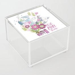 Best Mom Ever Acrylic Box