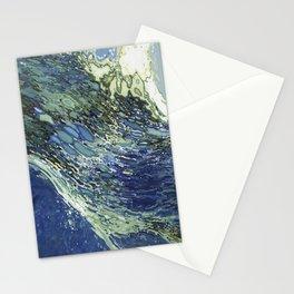 Ebb and Flow Splashing Wave Juul Art Stationery Cards