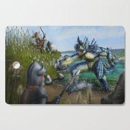 Lake Monster Cutting Board