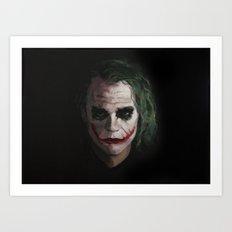 Joker1 Art Print