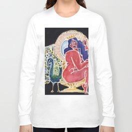 Peacock Queen Long Sleeve T-shirt