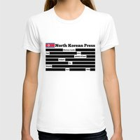 korea T-shirts featuring North Korea News Paper by pollylitical