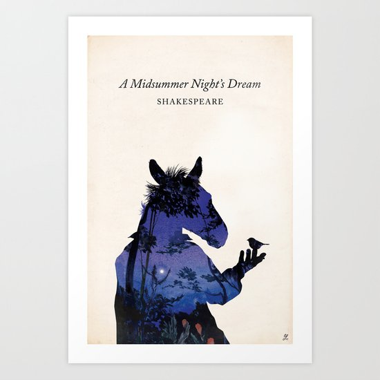 A Midsummer Night's Dream Art Print