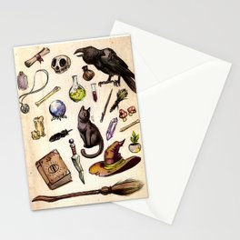 Witching Essentials Stationery Cards