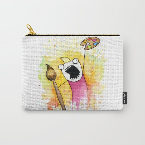 Meme Painting Carry-All Pouch
