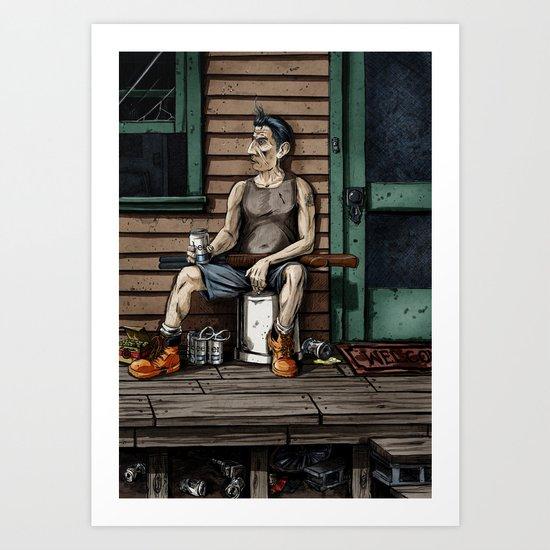 The Mungler Art Print
