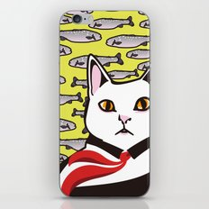 cat&fish iPhone & iPod Skin