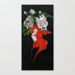 Rose boy - ANALOG zine Canvas Print