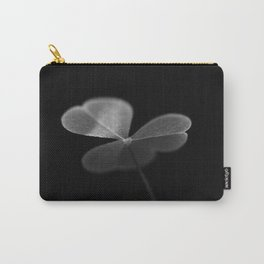 Oxalis in black and white Carry-All Pouch