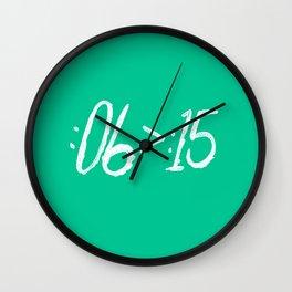 VINE LOYALIST Wall Clock