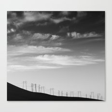 Muscle Canvas Print