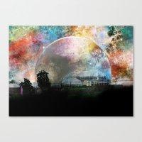 infinite Canvas Prints featuring Infinite by J.Lauren