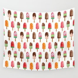 Popsicle Summer Wall Tapestry
