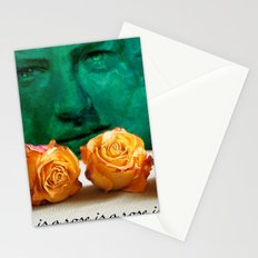 ROSE - quote Stationery Cards