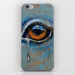 Horse Eye iPhone Skin