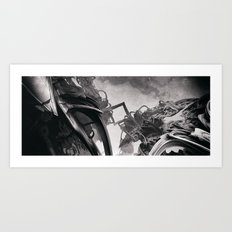 Belium b Jen-François Dupuis Art Print