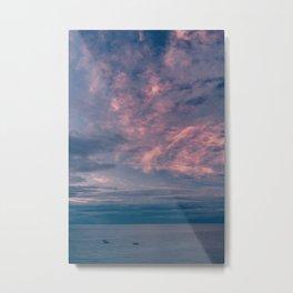 Positano Sunset II Metal Print