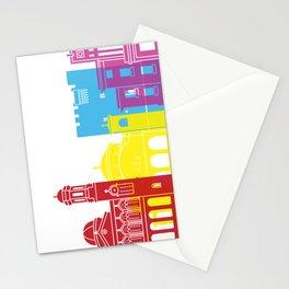 Limassol skyline pop Stationery Cards
